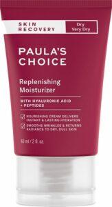Paula's Choice Recovery Replenish moisturizer step nine of korean skin care routine