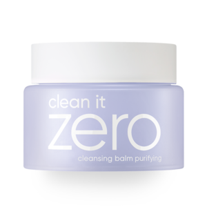 Step one Clean it Zero Cleansing Balm Purifying