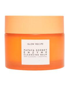 glow recipe papaya sorbet enzyme cleansing balm ten step korean skin care kit