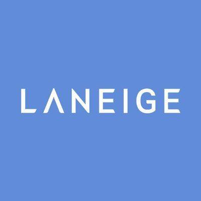 laneige blue background logo tenstepkoreanskincarekit