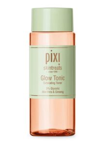 pixi skin treats glow tonic step four of korean skincare routine
