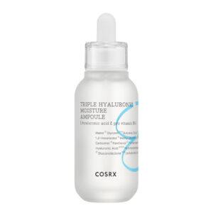 COSRX Hydrium Triple Hyaluronic Moisture Ampoule step six of korean skincare routine