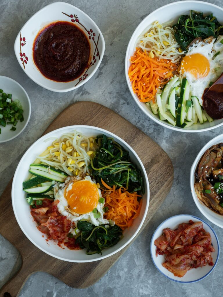 kpop diet Korean food 10stepkoreanskincarekit.com
