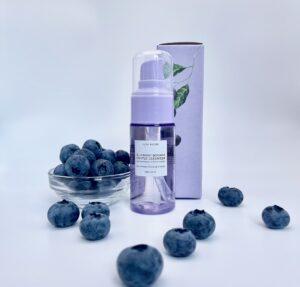 glow recipe blueberry bounce gentle cleanser step 2 10stepkoreanskincarekit.com