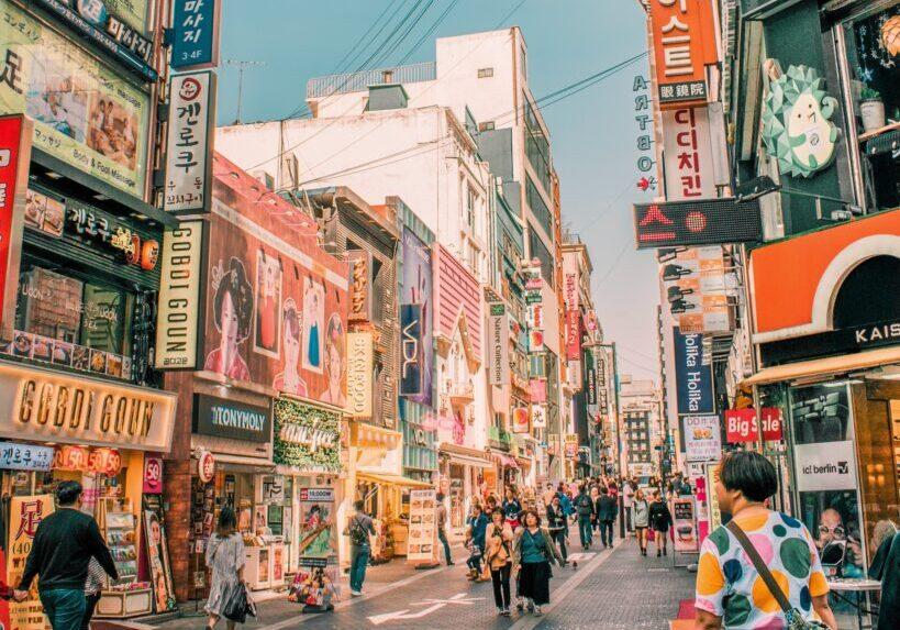 hallyu the korean wave korean street 10stepkoreanskincarekit.com